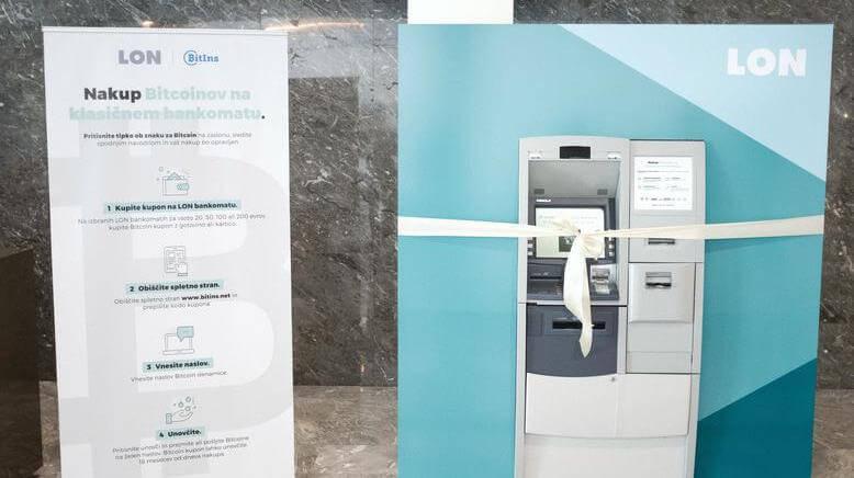 Всё как у людей: банкоматы в Словении продают биткоин