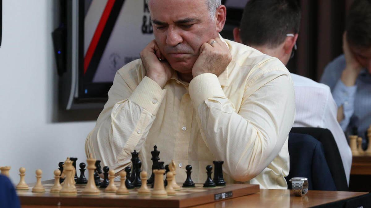 Шах и маты: Гарри Каспаров назвал Биткоин «чистой спекуляцией»