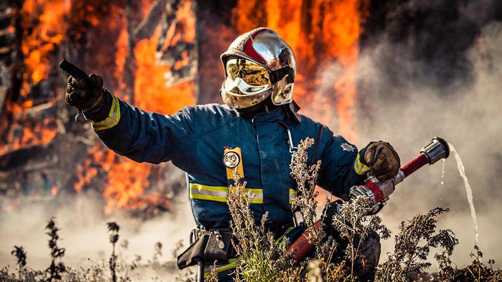 Фото о борьбе с пожаром