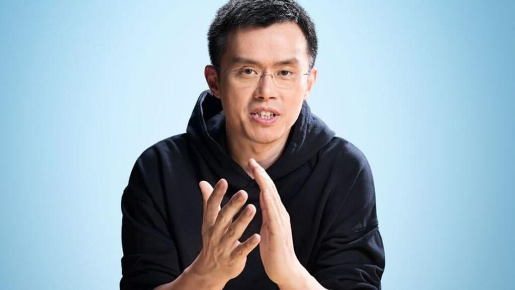 Чанпен Чжао Binance биржа