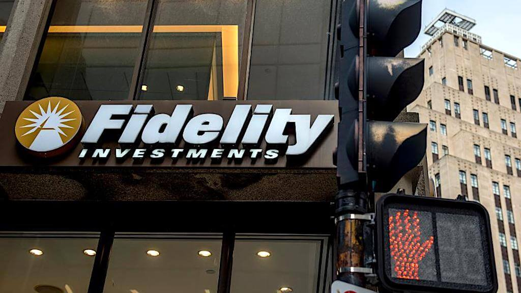 Логотип Fidelity