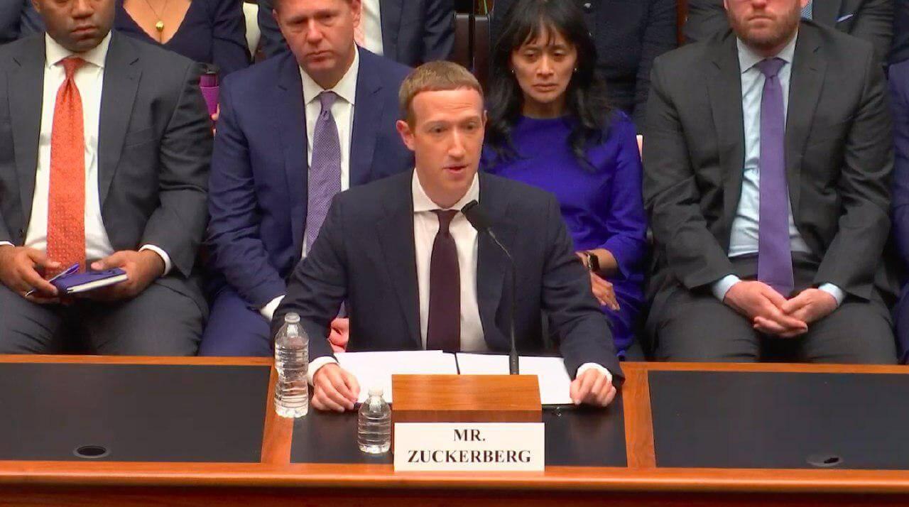 Libra Марк Цукерберг Конгресс слушания