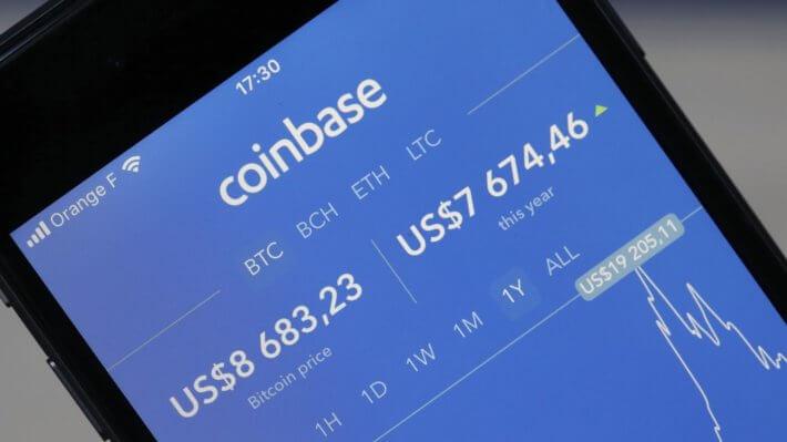 Coinbase биржа приложение