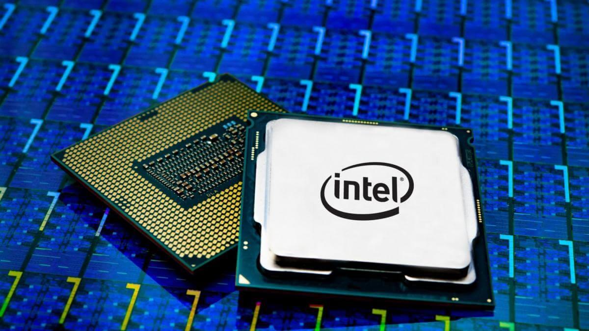 Процессор Intel камень железо CPU
