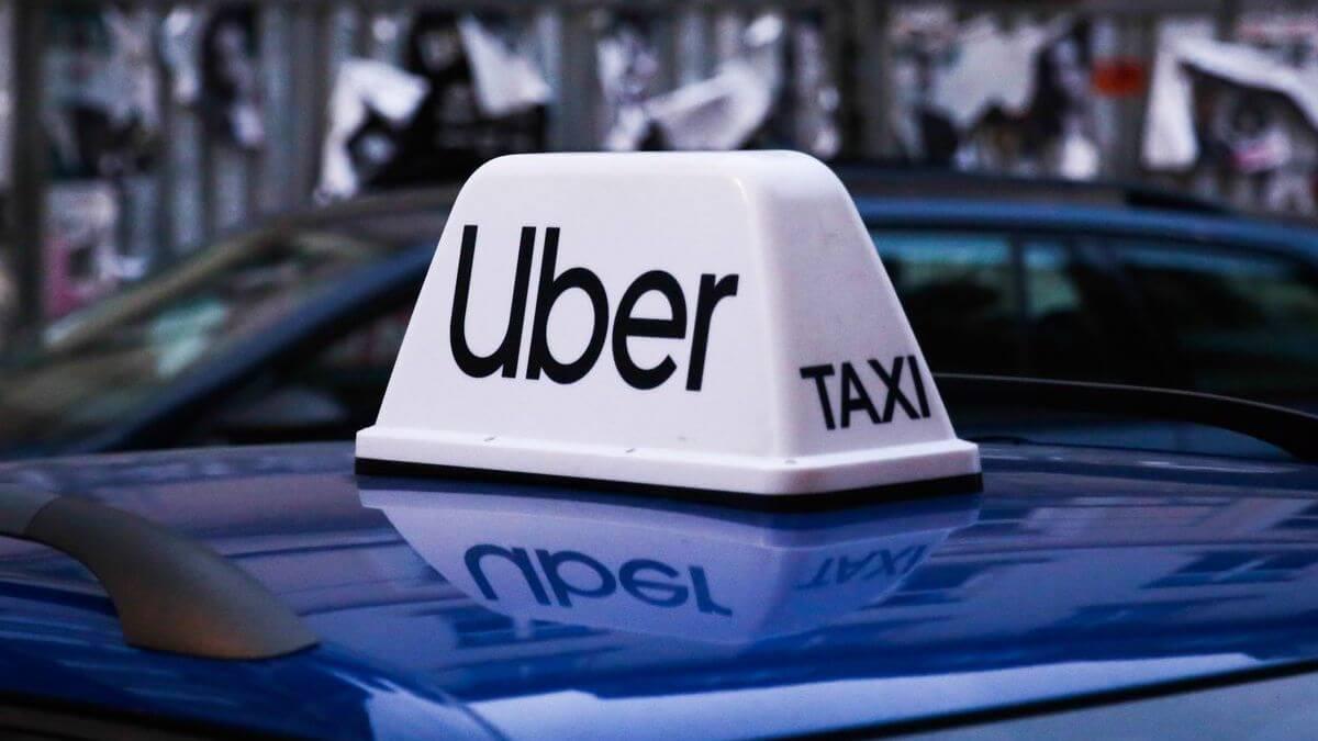 Такси убер лого