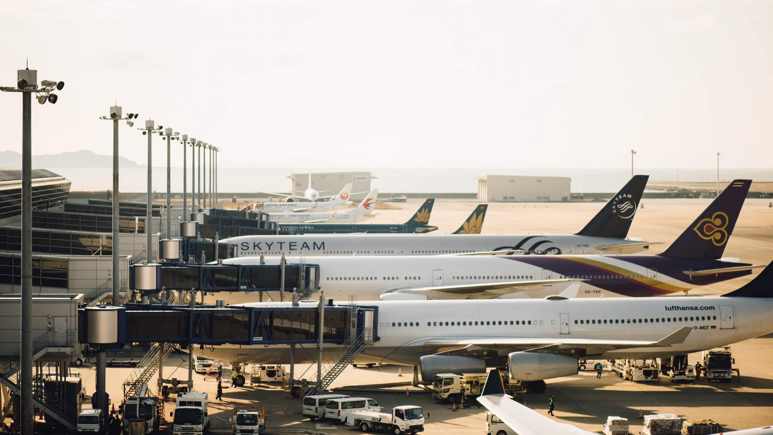туризм блокчейн самолет аэропорт