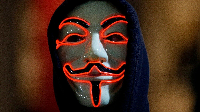 Маска анон хакер