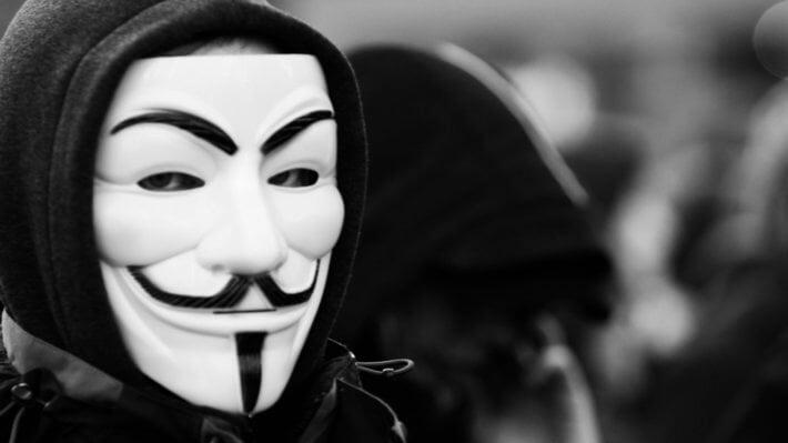 Анонимус маска