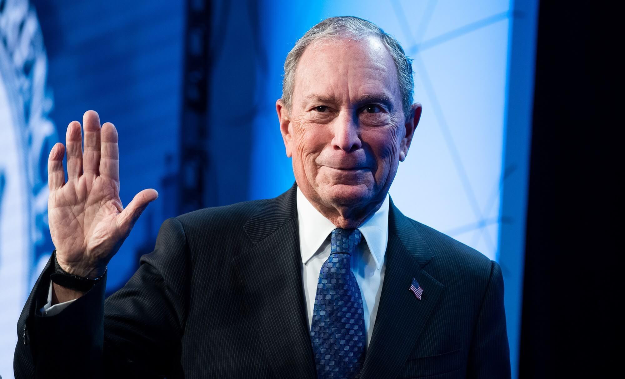 Майкл Блумберг Bloomberg CEO