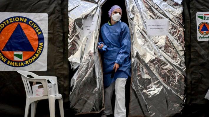 Коронавирус Италия болезнь инфекция