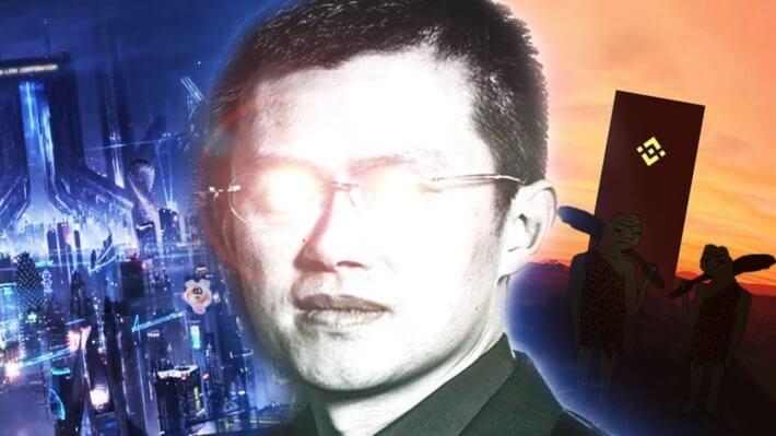 Чанпэн Чжао binance
