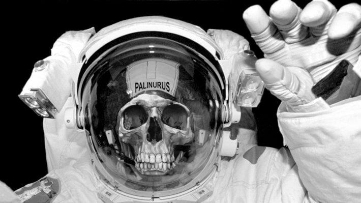 Астронавт мёртвый череп смерть