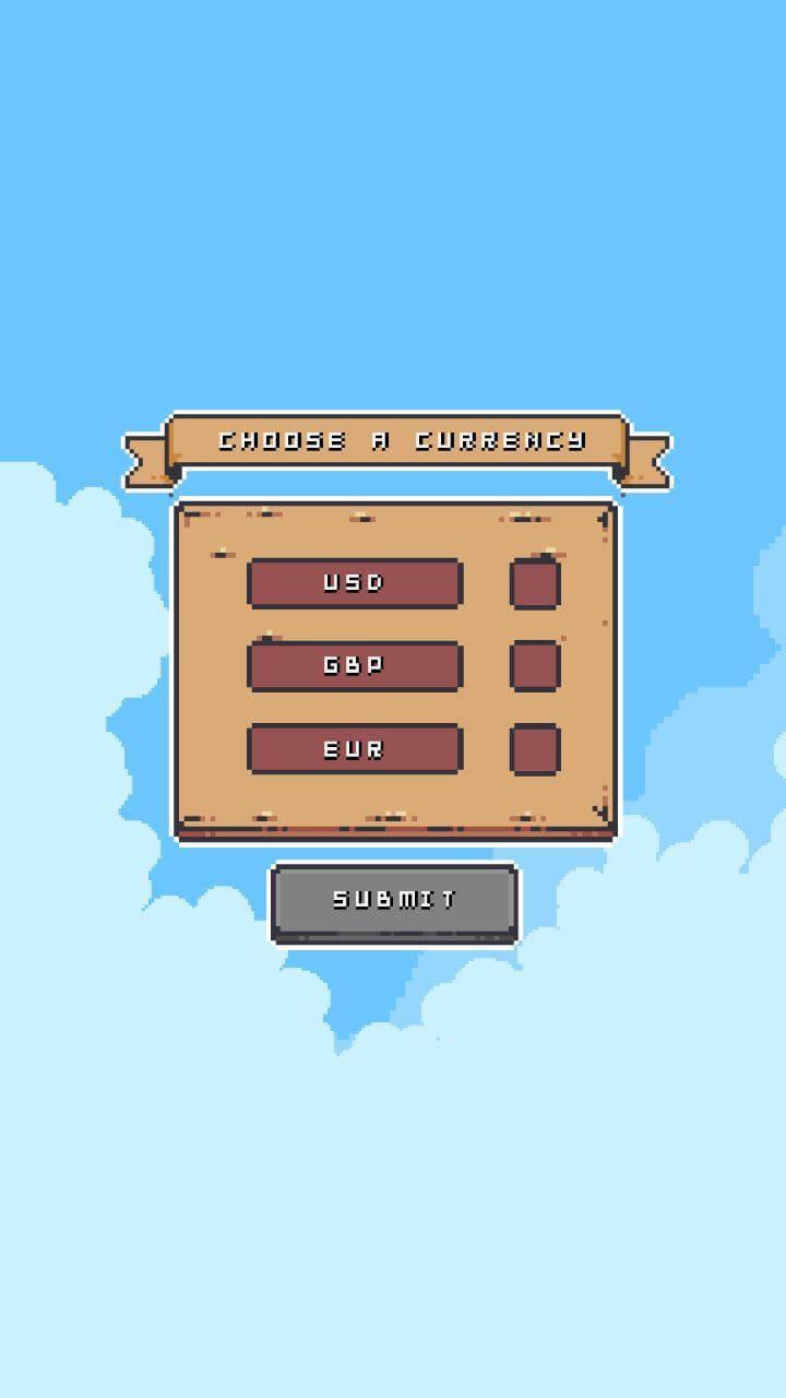 pixel art приложение валюты