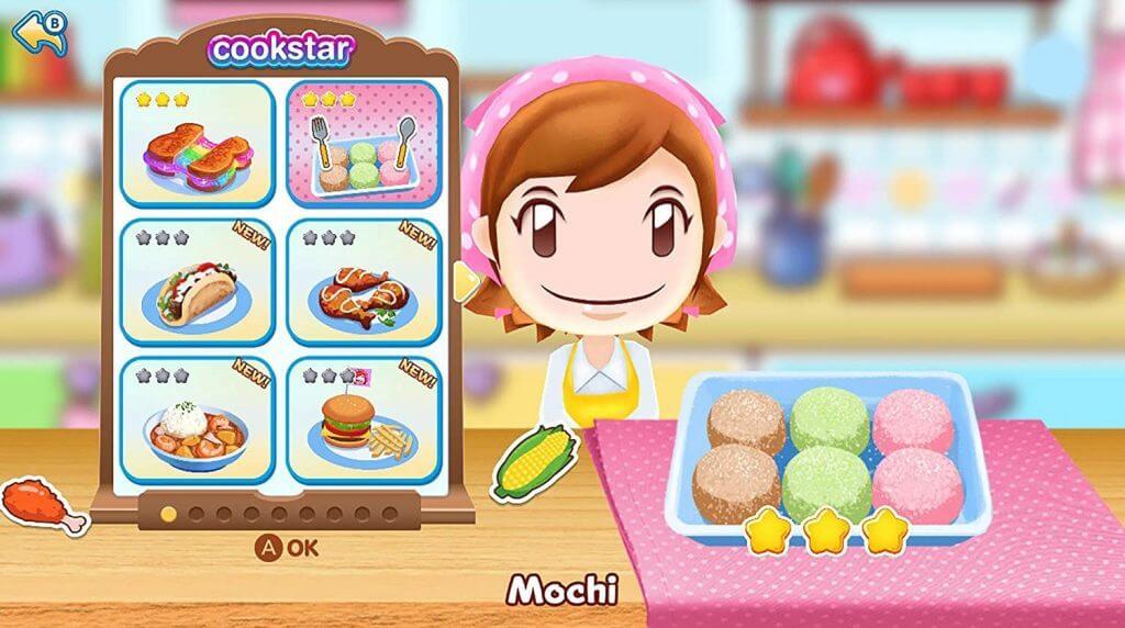 Cooking Mama Nintendo Switch консоль скриншот