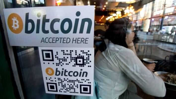 принятие биткоин криптовалюта