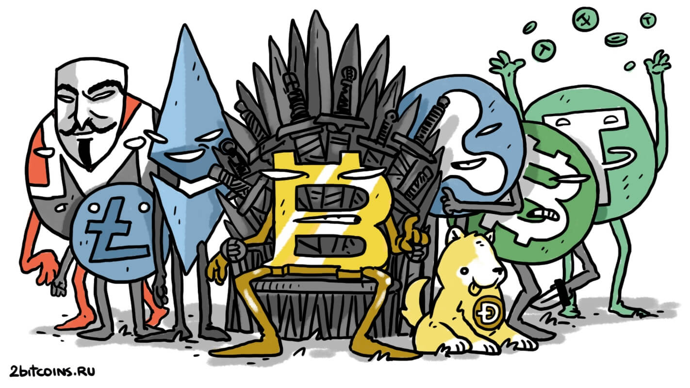 Биткоин криптовалюты престолы