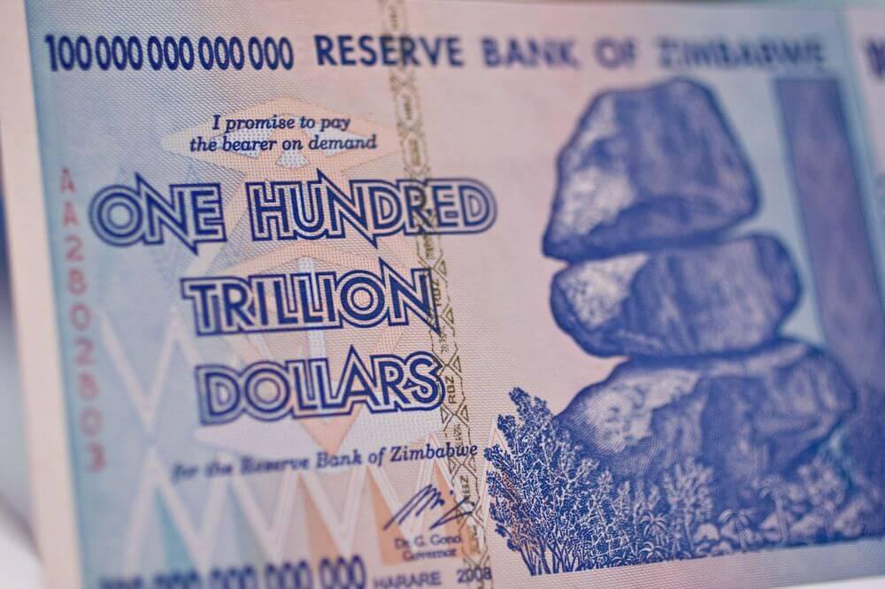 Зимбабве кризис валюта