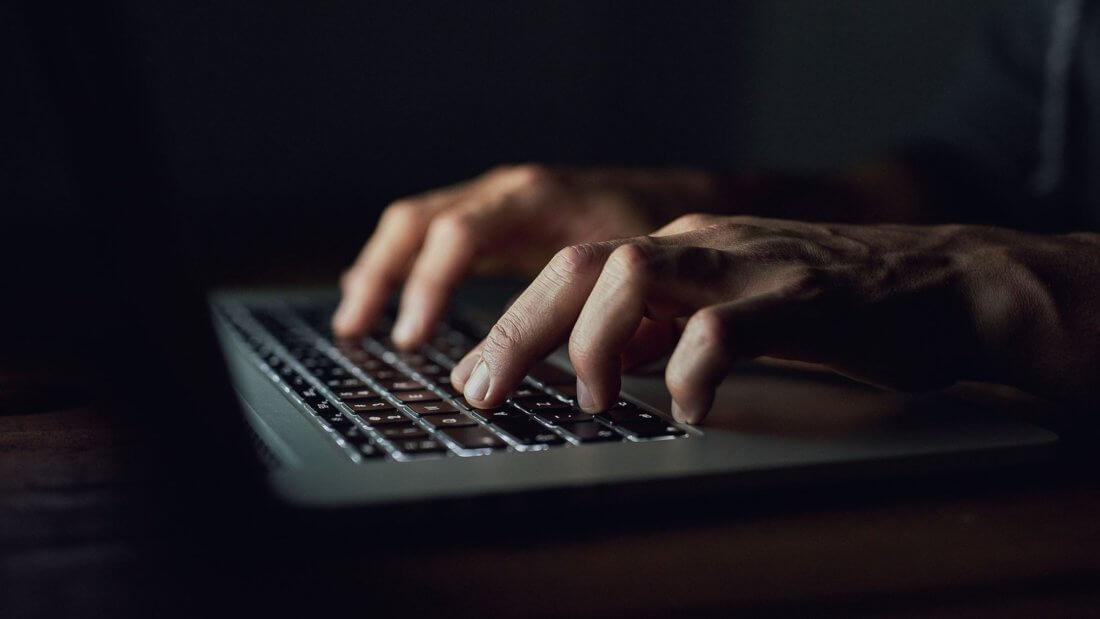 мошенник клавиатура криптовалюты