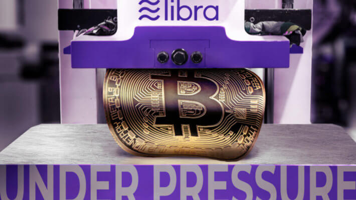 Libra криптовалюты Биткоин