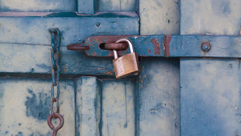 замок двери пароль