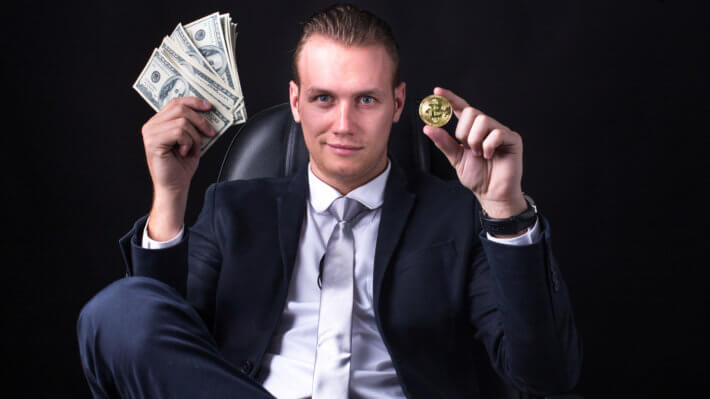 Миллионер Биткоин деньги