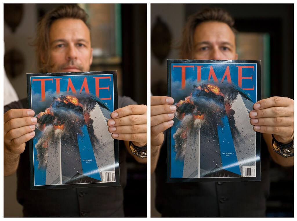 TIME теракт фотография Нью-Йорк
