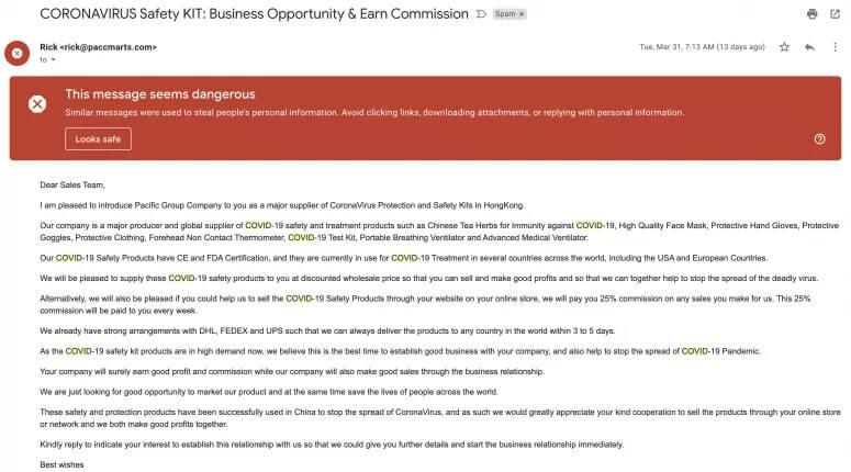 письмо e-mail мошенничество крипта