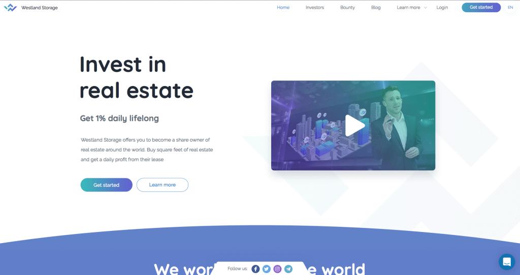 Westland Storage сайт