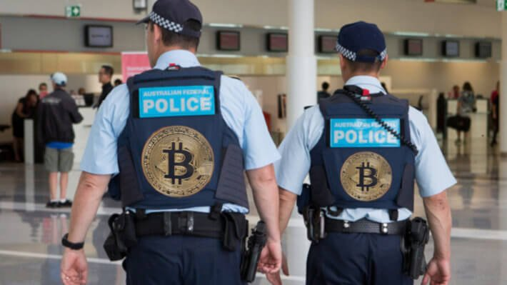 австралия полиция криптовалюты