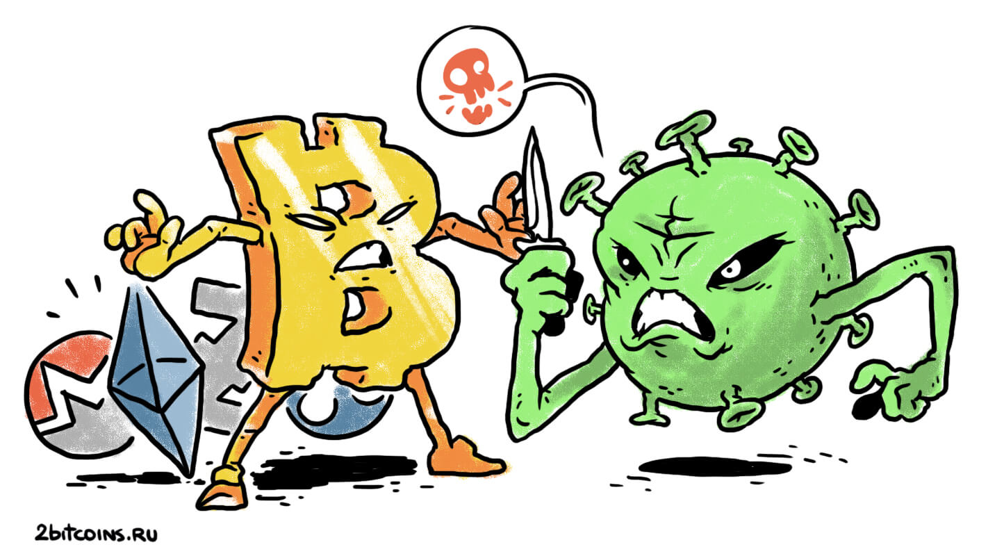 биткоин криптовалюта пандемия