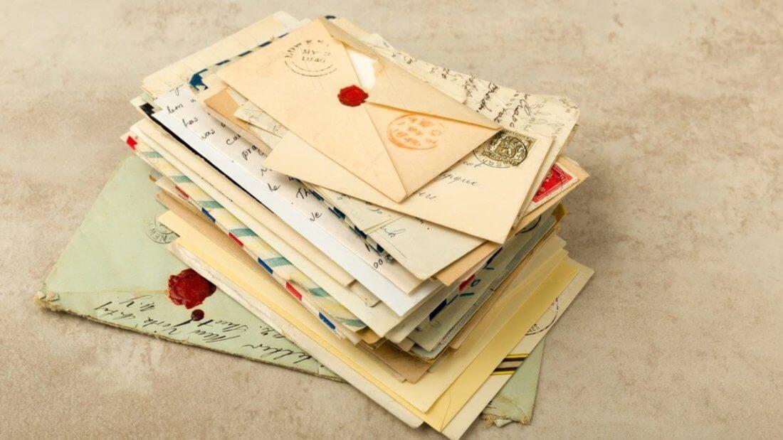 письма конверты послание