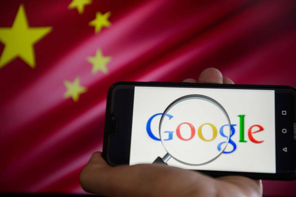 google китай интернет