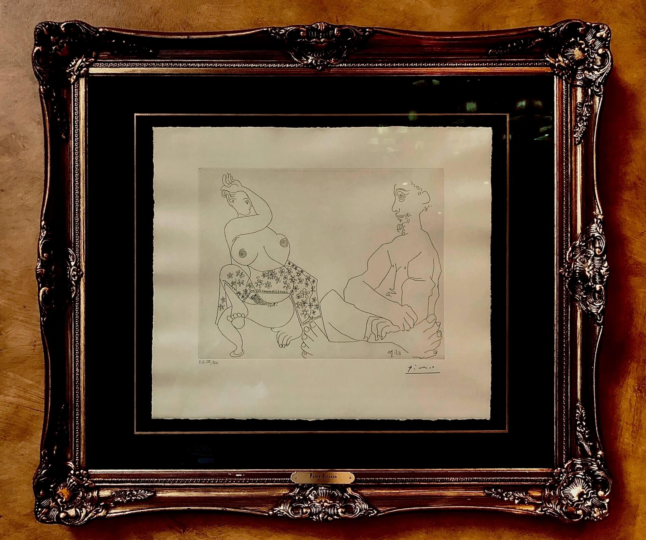 Пабло Пикассо художник