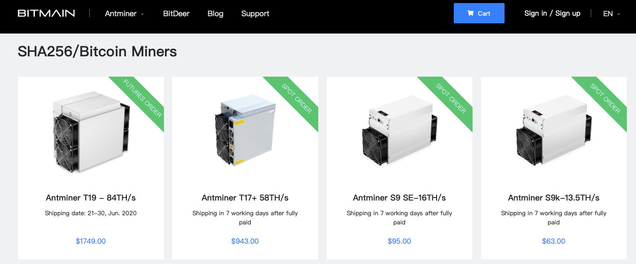 bitmain asic t19