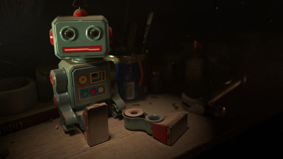 робот смарт-контракт блокчейн