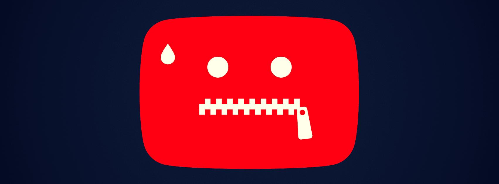 youtube цензура блокчейн