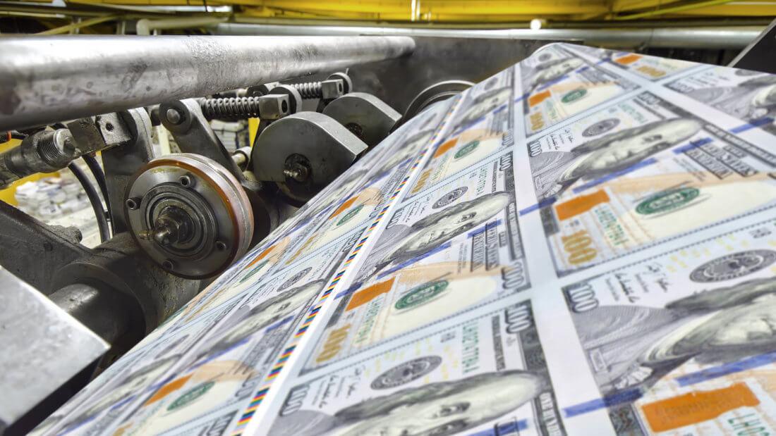 принтер доллара