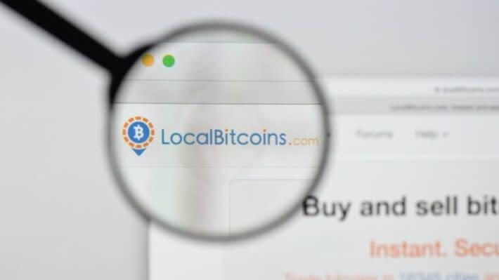 LocalBitcoins транзакции Биткоин