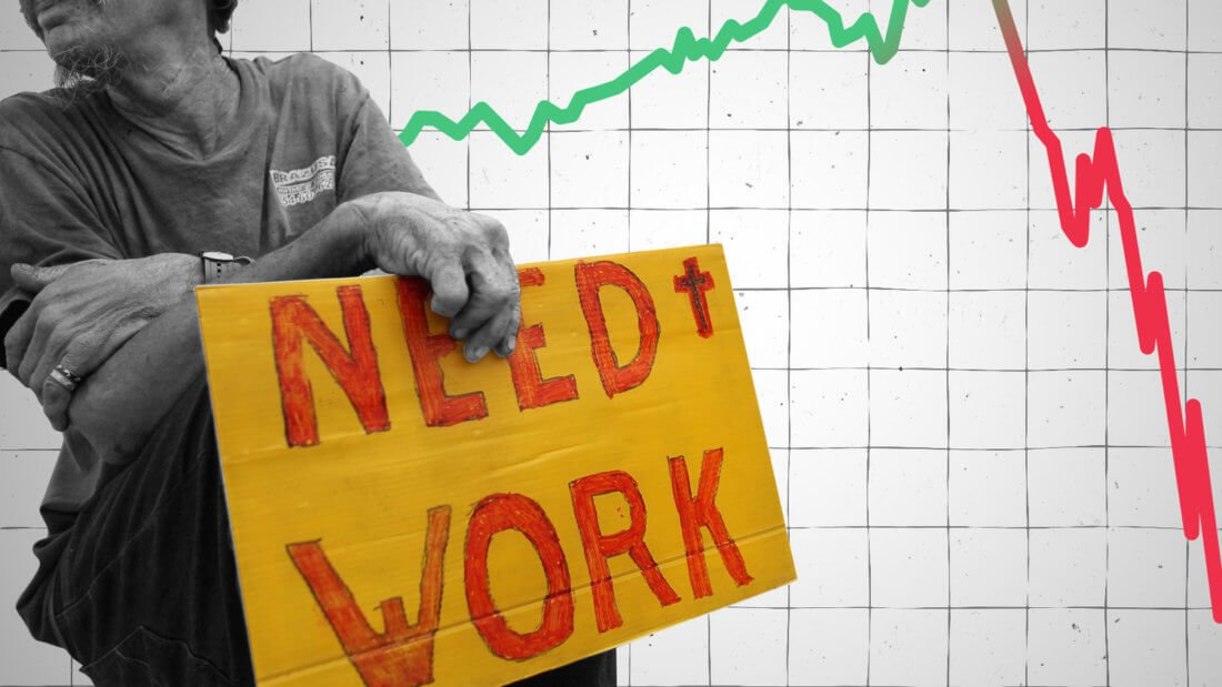 безработица кризис экономика