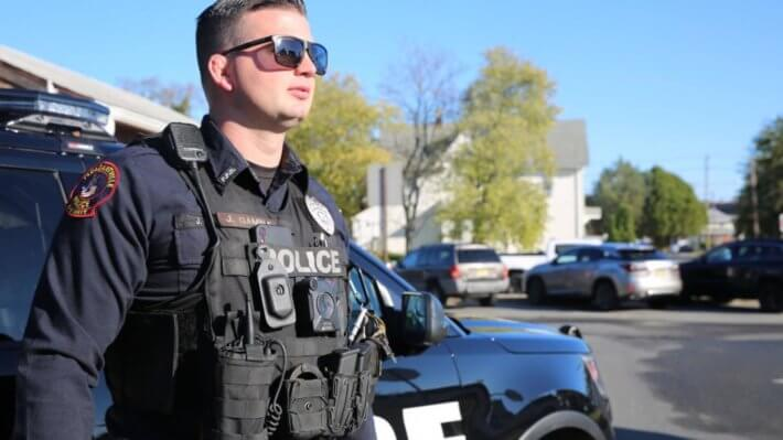 полиция США офицер