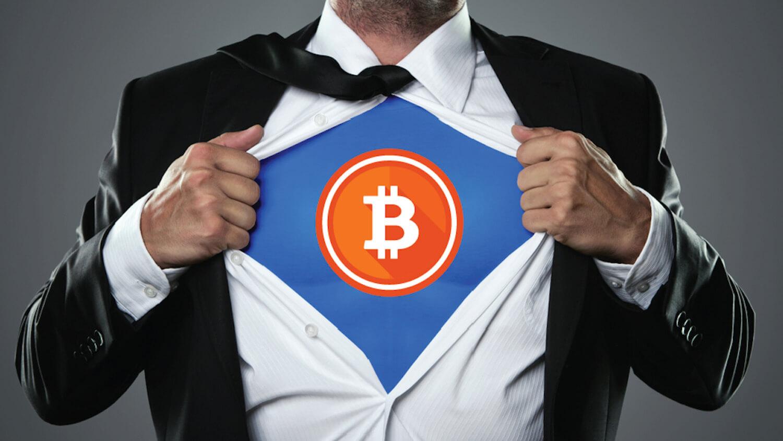 супергерой биткоин криптовалюта