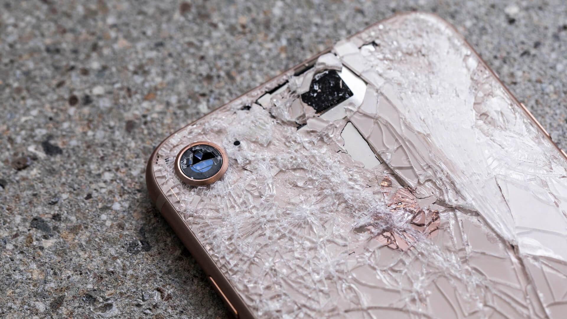 айфон стекло сломанное