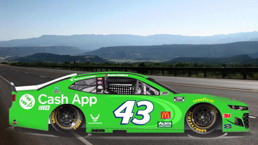 машина Биткоин NASCAR