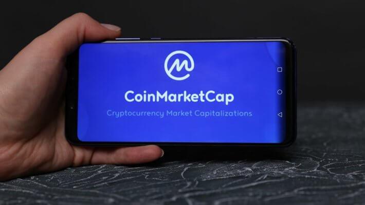 coinmarketcap сервис смартфон