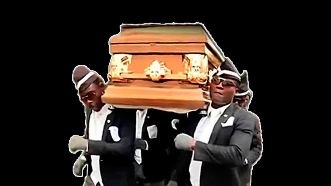 мем гроб смерть