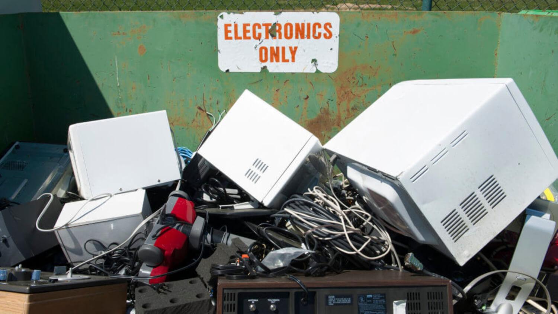 электроника отходы мусор