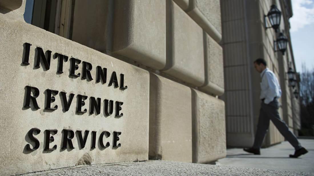 IRS США Биткоин