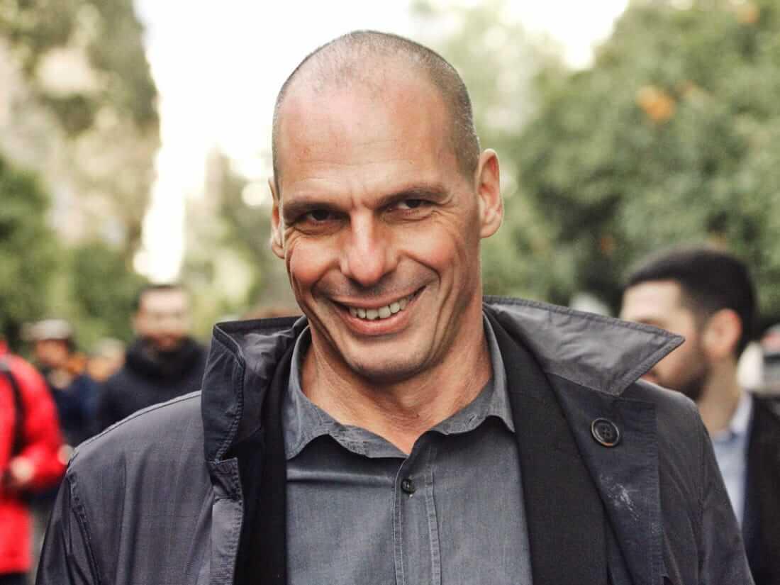 Янис Варуфакис министр Греция