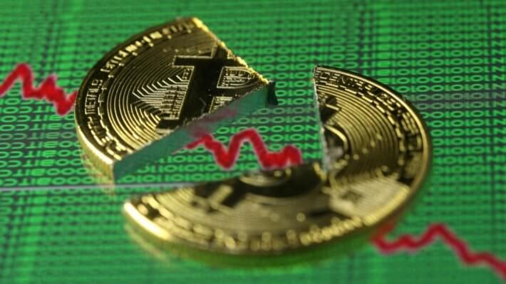 Биткоин падение криптовалюта