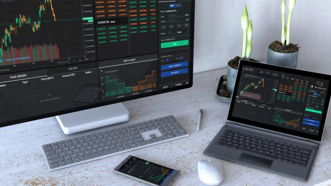 DEX биржи трейдинг